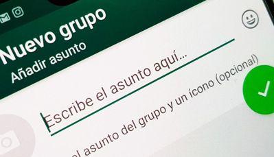 Nuevos grupo de whatsapp