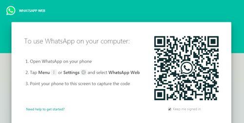 Cómo configurar WhatsApp Web