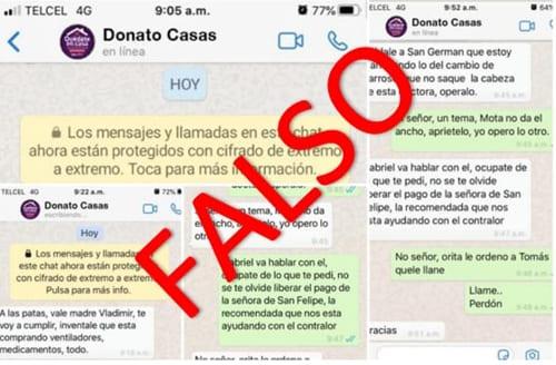 Cómo detectar que una conversación de WhatsApp es falsa